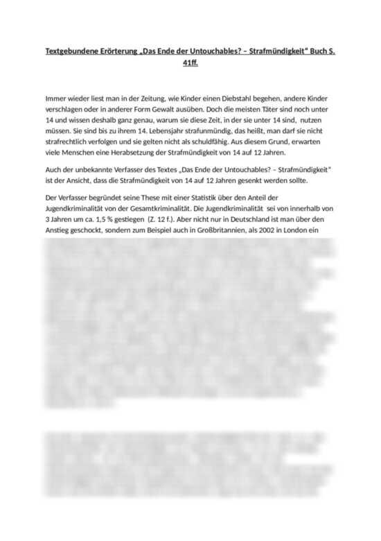 Deutsch Arbeitsmaterialien Beispiele Musterlosungen 3