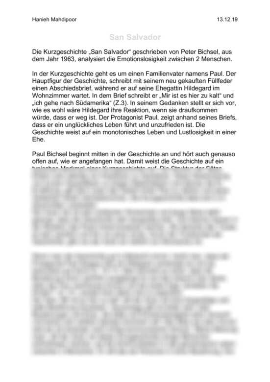 Peter bichsel eigentlich möchte frau blum den milchmann kennenlernen text