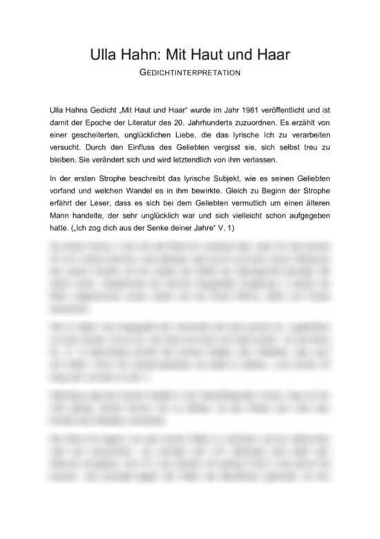 gedicht bekanntschaft kostenlose partnersuche oberpfalz