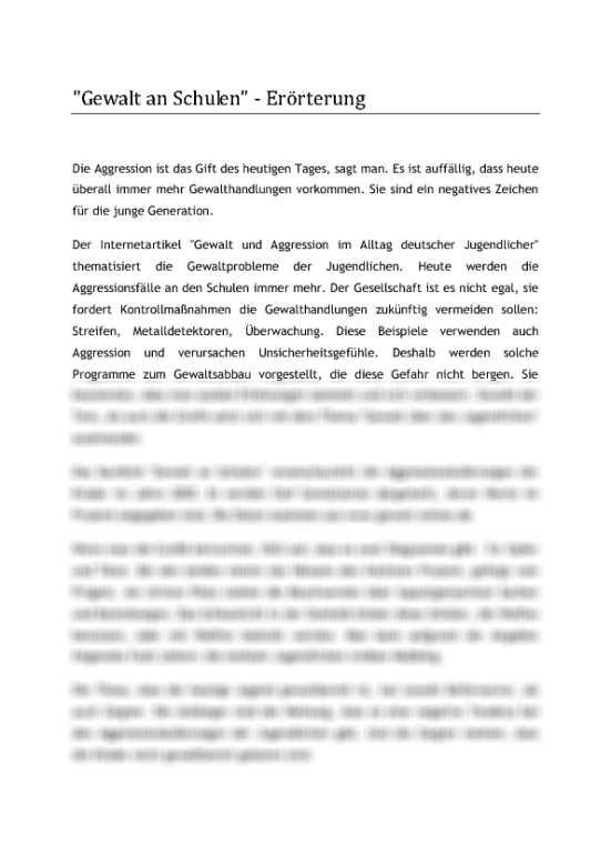 Freie Und Textgebundene Erorterung Das Rundum Sorglos Paket