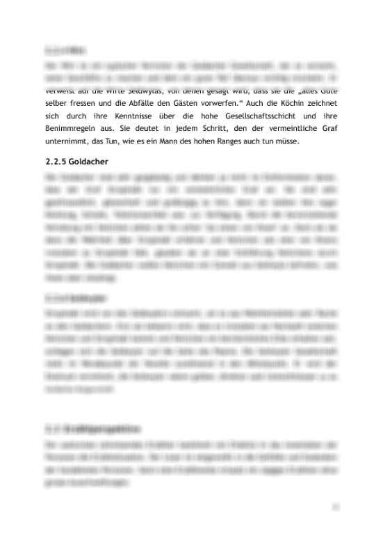 Goldacher leute charakterisierung kleider machen Keller, Gottfried