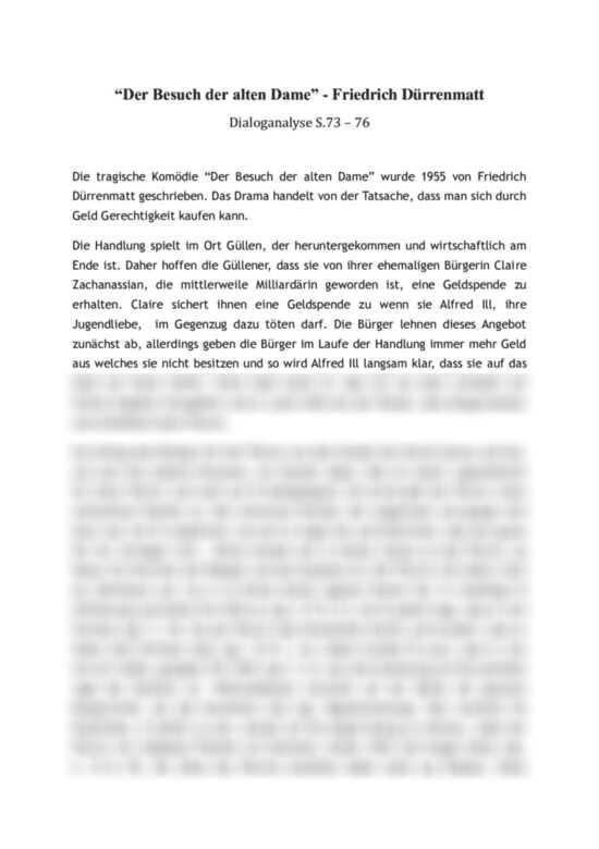 Dialoganalyse Die Physiker Von Friedrich 6