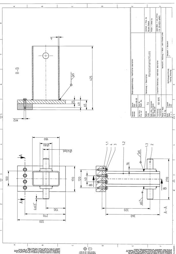 bemessung und gestaltung eines konsolanschlusses konstruktion hausarbeit wb kon s21 110709. Black Bedroom Furniture Sets. Home Design Ideas