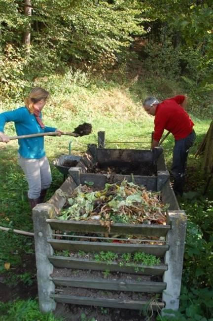 der komposthaufen wo ist der beste platz f r einen komposthaufen und wie funktioniert richtiges. Black Bedroom Furniture Sets. Home Design Ideas